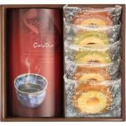 2層バームクーヘン&コーヒーセット
